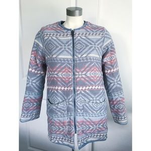 Faherty Cheyenne Quilted Reversible Cotton Jacket